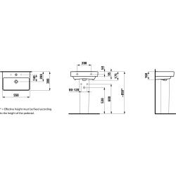 LAUFEN PRO S 55x38