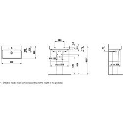 LAUFEN PRO S 60x38