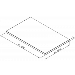 doskaELEMENT 17do 800mm,MDF