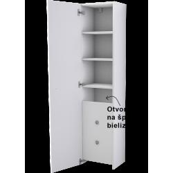 ELEMENT 17400Vysoká,jedno-dverová, košová