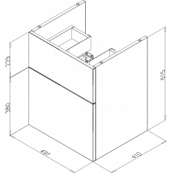 PROLýra Plus H550Zásuvková 1:2