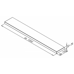 poličkaPROdo1000x32x150