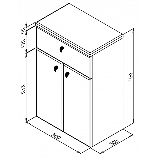 TANJA HD500s hornou zásuvkou