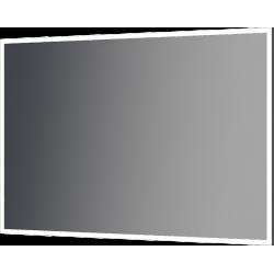 zrkadlo THIN ALU LED v hliníkovom rámiku do 1000x700