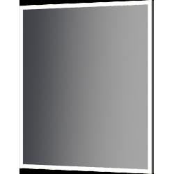 zrkadlo THIN ALU LED v hliníkovom rámiku do 600x700