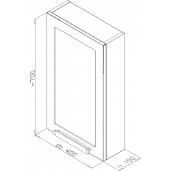 Villagodo 400Závesná