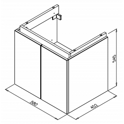 ZENTWINS 60Dverová