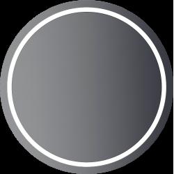 zrkadlo PRO LED kruhové do D600mm