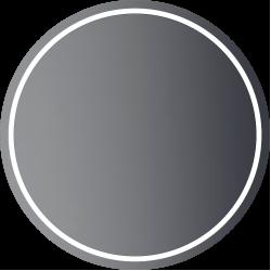 zrkadlo PRO LED kruhové do D800mm