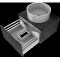 Countertop washbasins cabinets