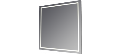 Mirrors with LED backlights