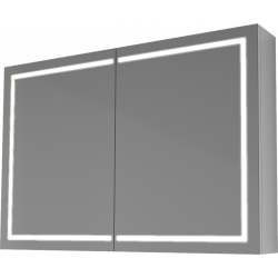 zrkadloPROdo 1000LEDdvoj-dverové